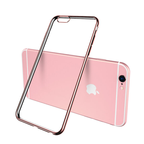 Cheap Gold iPhone 6 7 8 And Plus Silicone Case IP6S05_2