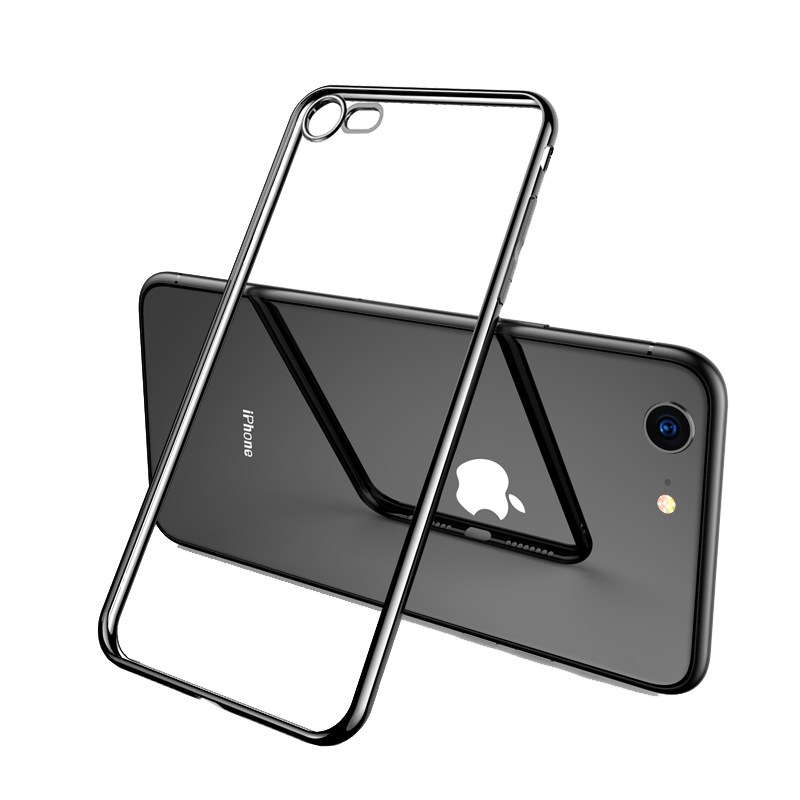 2019 Cheap Gold iPhone 6S And 6S Plus Silicone Case Cover With Metal Frame IP6S05_4