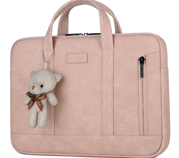 Black Leather Surface Pro 3 4 5 6 Bag Surface 3 Cover SPC01