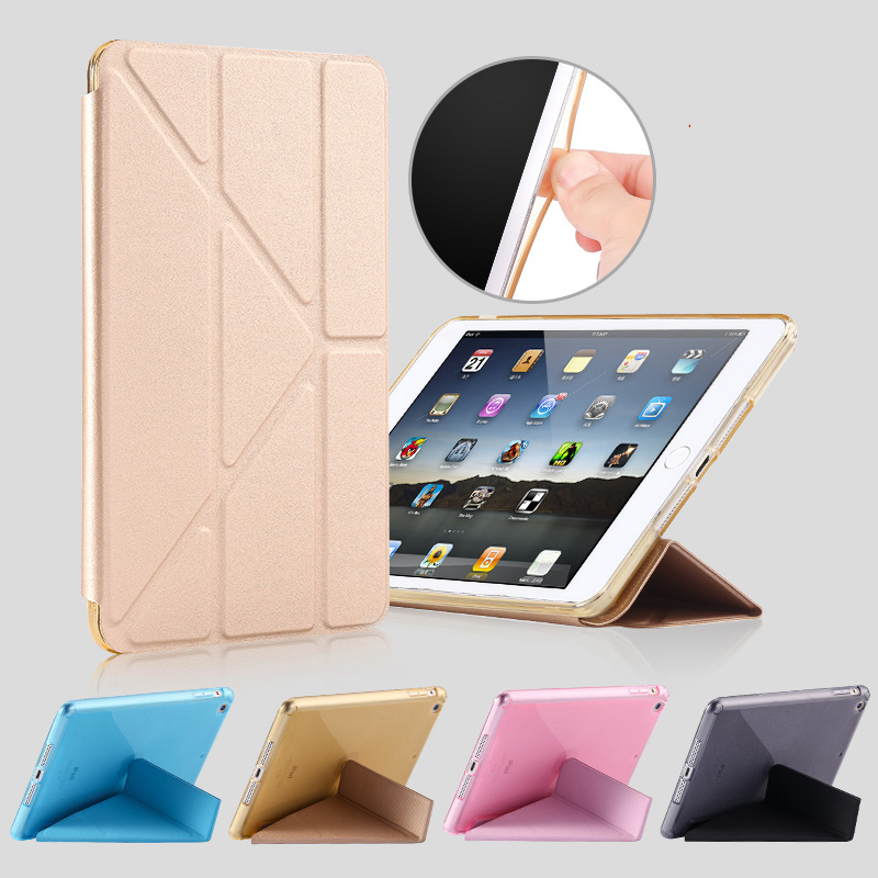 Cheap Cool Sky Blue Leather New iPad Pro Covers Or Cases IPPC02