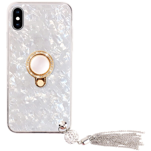 Pink iPhone X 8 7 6 6S Plus Case With Bright Diamond For 2019 Christmas Gift IP6S06_3