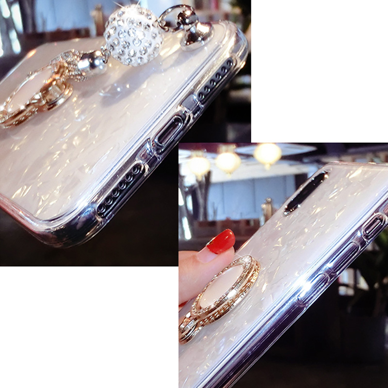 Perfect iPhone 11 XS Max XR 6 7 8 Plus Case With Diamond Ring IP6S06_5