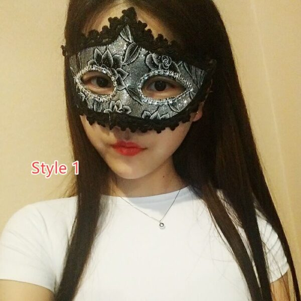 Halloween Masquerade Princess Party Mask DMS02