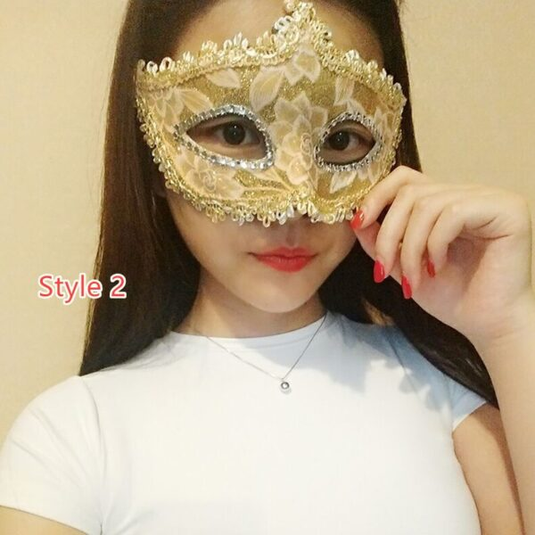 Halloween Masquerade Princess Party Mask DMS02_2