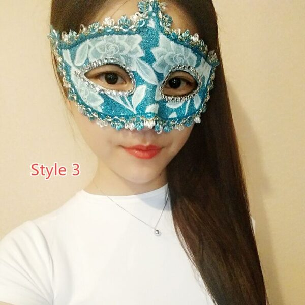 Halloween Masquerade Princess Party Mask DMS02_3