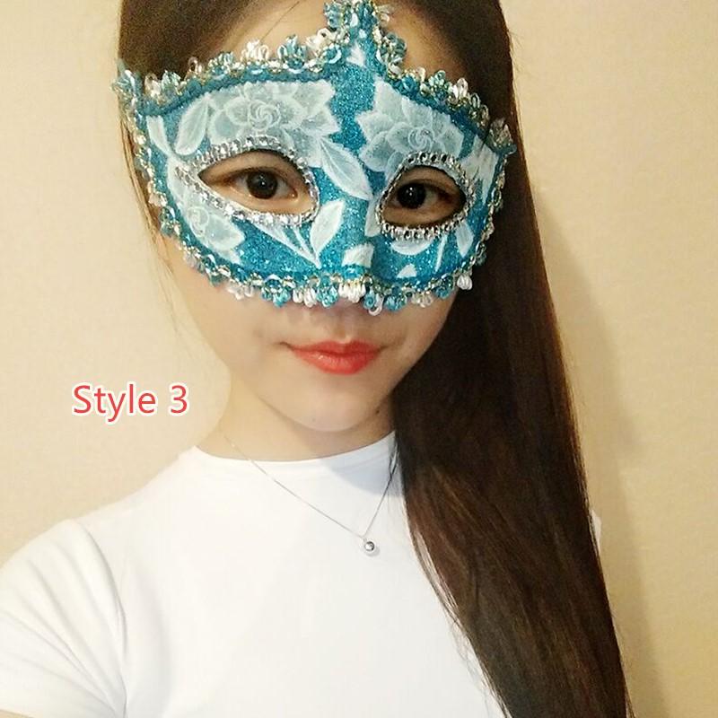 Halloween Masquerade Princess Party Mask DMS02_3