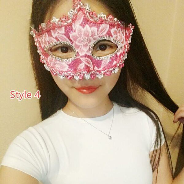 Halloween Masquerade Princess Party Mask DMS02_4