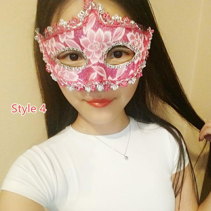 Halloween Masquerade Princess Party Mask DMS02_4