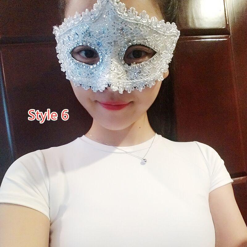Halloween Masquerade Princess Party Mask DMS02_6