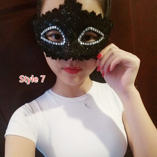Halloween Masquerade Princess Party Mask DMS02_7