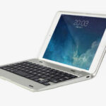 2017 Best Silver Metal iPad Mini 4 Keyboards Covers Or Cases IPMK401