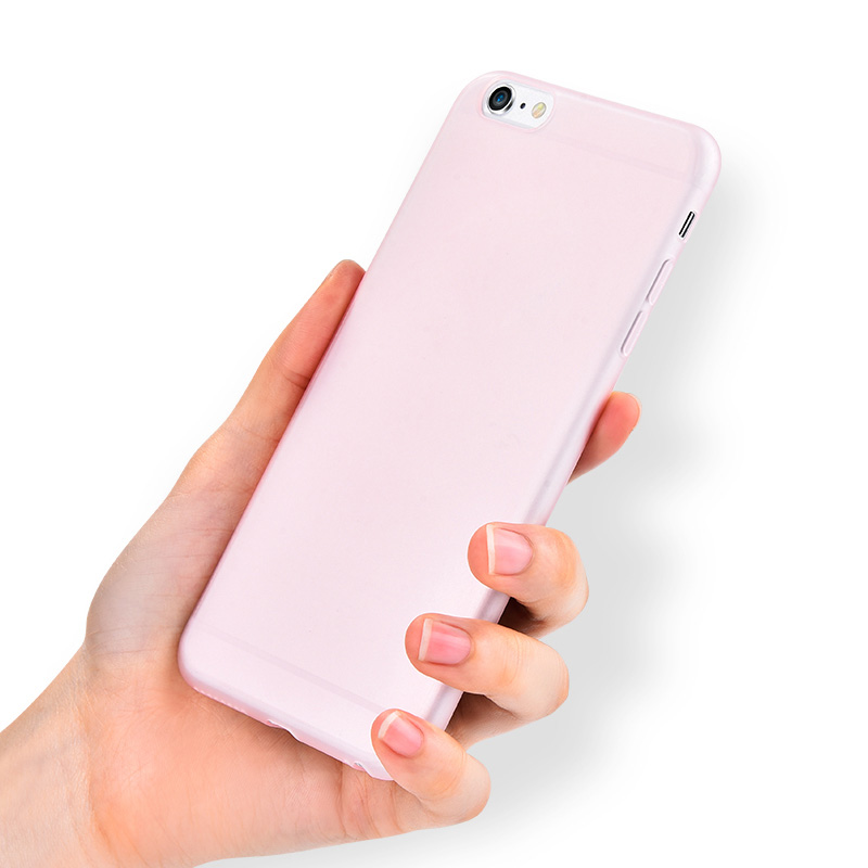 Perfect Silicone Pink iPhone 8 7 6S 6 Protective Case Cover IP6S08_2