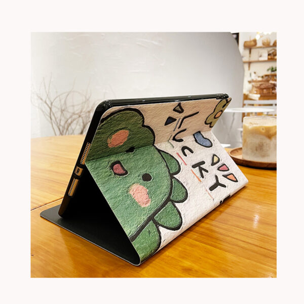 Leather Painted iPad Mini Air Pro New iPad Folio Smart Cover IPMC401_8