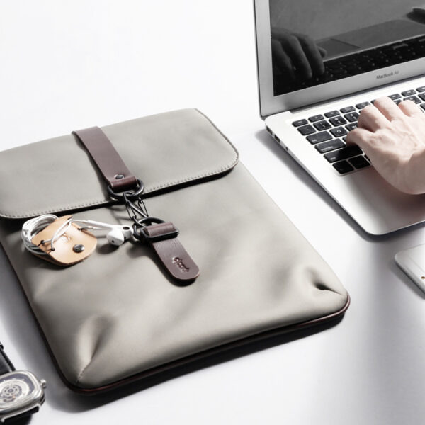 Canvas Macbook 12 Surface Pro 6 5 4 3 Laptop Book Bag With Buckle SPC03_6-1