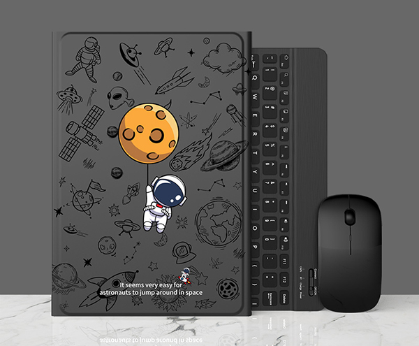 Perfect Removable Leather iPad Mini 4 3 Keyboards With Cases Or Covers IPMK402_2