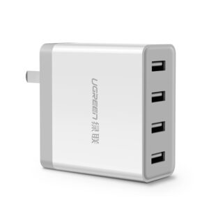 4-Ports USB Charger For iPad Air Pro Mini iPhone Plus Samsung Galaxy Note IPGC03