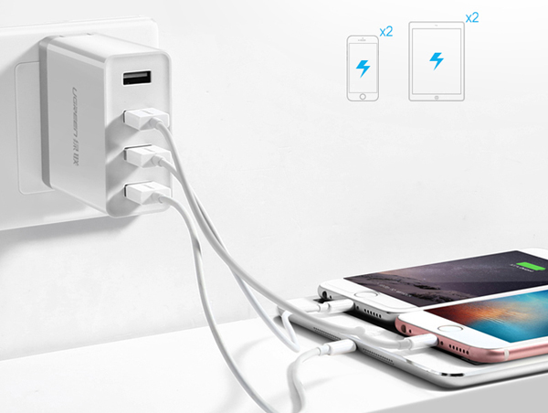 4-Ports USB Charger For iPad Air Pro Mini iPhone Plus Samsung Galaxy Note IPGC03_2