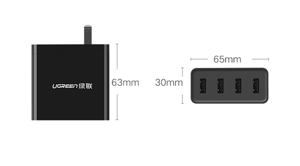 4-Ports USB Charger For iPad Air Pro Mini iPhone Plus Samsung Galaxy Note IPGC03_6