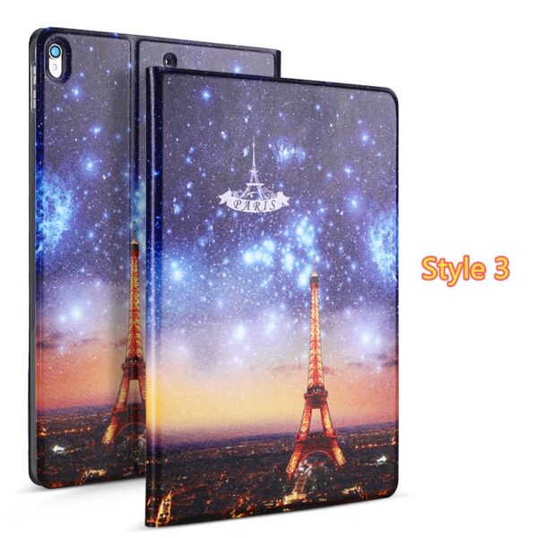 2019 Best Painted iPad Pro Cartoon Leather Protective Case Cover IPPC04_3