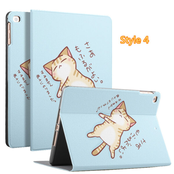 2019 Best Painted iPad Pro Cartoon Leather Protective Case Cover IPPC04_4