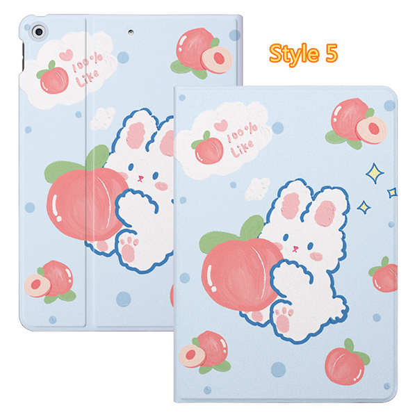 2019 Best Painted iPad Pro Cartoon Leather Protective Case Cover IPPC04_5