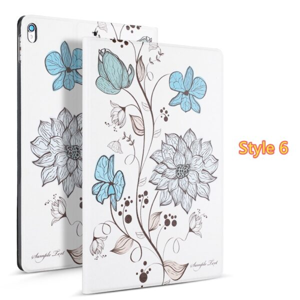 2019 Best Painted iPad Pro Cartoon Leather Protective Case Cover IPPC04_6