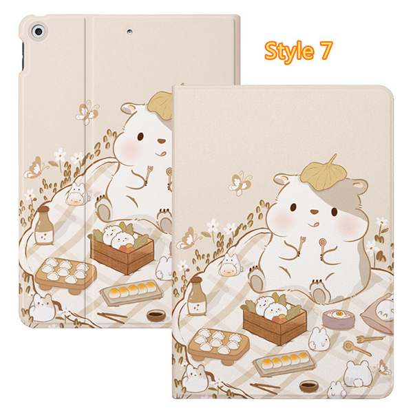 2019 Best Painted iPad Pro Cartoon Leather Protective Case Cover IPPC04_7