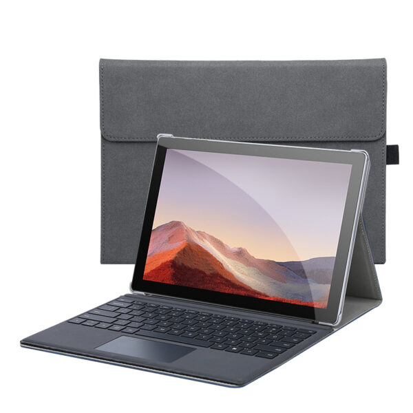 Perfect Leather Surface Pro 7 6 5 4 Go Cover With Small Bag SPC05_2