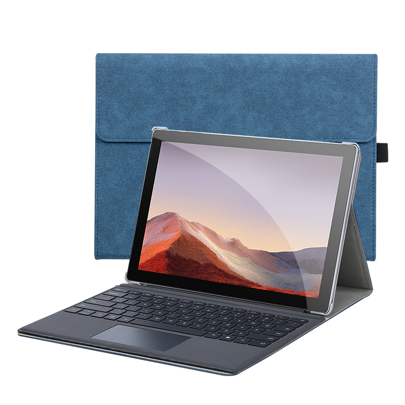 leather black surface pro 5 4 case covers with pen storage