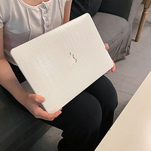 Silk Pattern Macbook Air Pro 11 12 13 15 Inch Protective Case Covers With Free Keyboard Skin_4