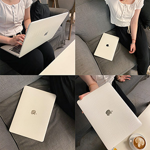Silk Pattern Macbook Air Pro 11 12 13 15 Inch Protective Case Covers With Free Keyboard Skin_6