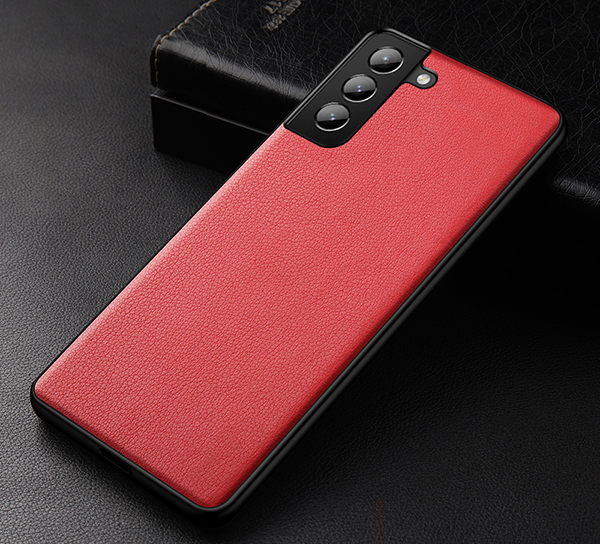 Best 2019 Real Leather Orange S7 And S7 Edge Protective Case Cover SG704_3