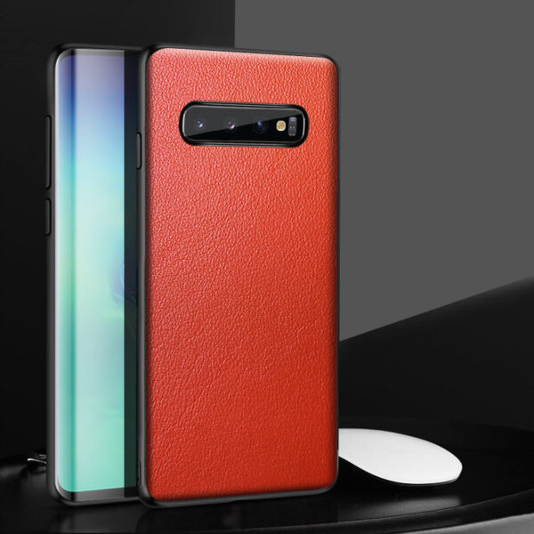 Leather Protective Samsung S20 S10 S9 S8 Case SG703_3