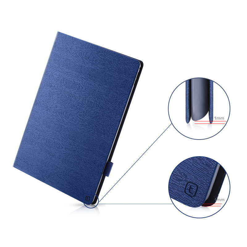 Leather 9.7 And 12.9 Inch iPad Pro Cases Covers With Pen Cap IPPC05_7