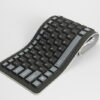 Silicone Portable Folding USB Waterproof Keyboard For Surface Macbook PKB03