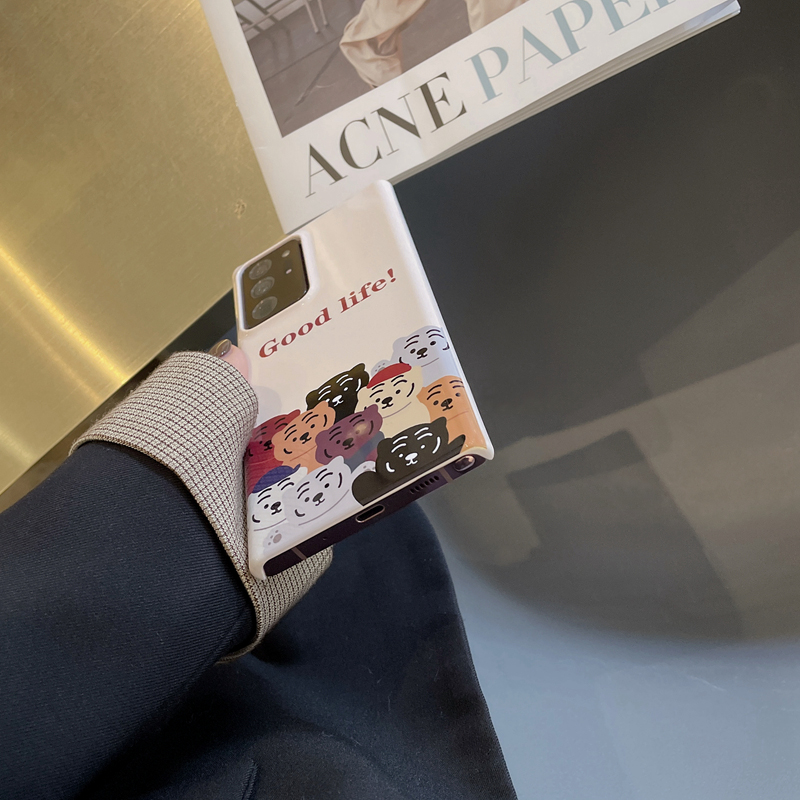 Slim Silicone Cartoon Pattern Galaxy S7 Case Or Covers SG701_3