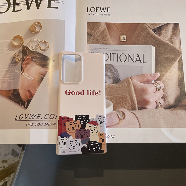 Slim Silicone Cartoon Pattern Galaxy S7 Case Or Covers SG701_4