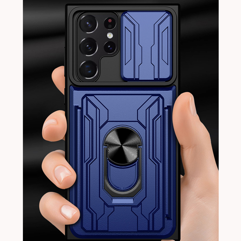 Transparent Clamshell Protective Sleeve Case Or Covers For S7 S6 And S7 Edge SG702_5