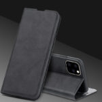 Best Black Leather iPhone SE 5S Case Covers With Card Slot IPS507