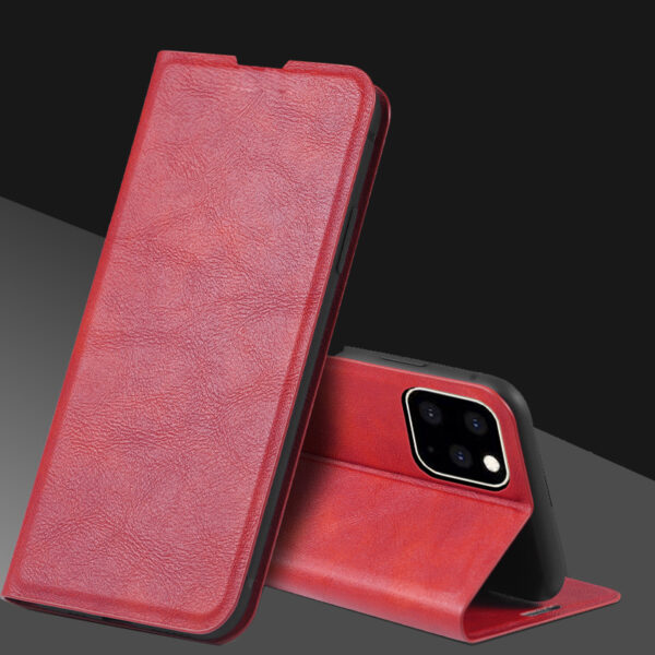 Best Leather iPhone 11 Pro Max Case With Card Slot IPS507_2
