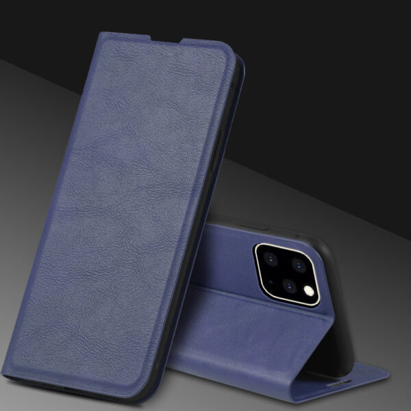 Best Leather iPhone 11 Pro Max Case With Card Slot IPS507_3
