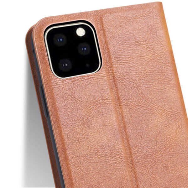 Best Leather iPhone 11 Pro Max Case With Card Slot IPS507_5
