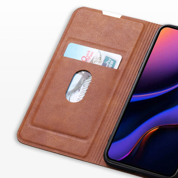 Best Leather iPhone 11 Pro Max Case With Card Slot IPS507_7