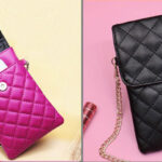 Best Mini Messenger Bag 2 Layer Cellphone Wallets PW04