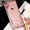 Diamond iPhone SE iPhone 8 7 6 6S Plus 5S Luxury Protective Silicone Sleeve Case IPS506