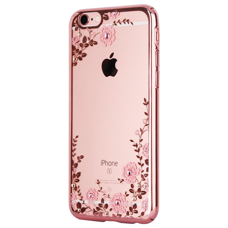 Diamond iPhone SE iPhone 6 6S Plus 5S Luxury Protective Silicone Sleeve Cases IPS506_4