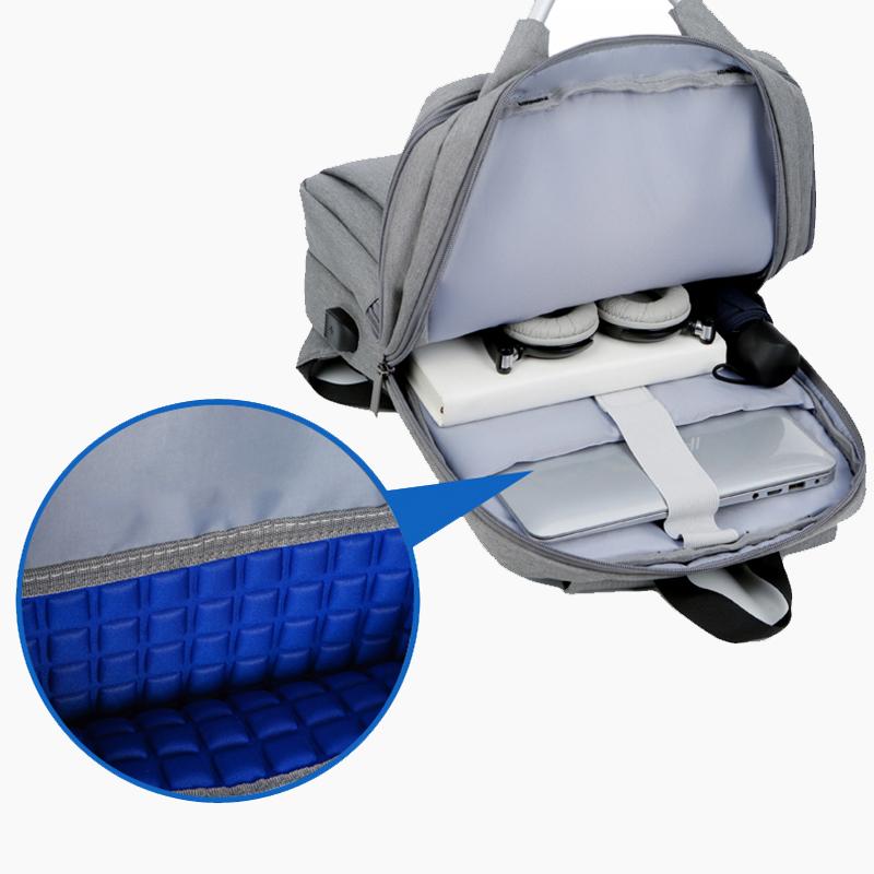 Minimalism Business Laptop Computer Square Backpack Leisure Bag MFB03_5