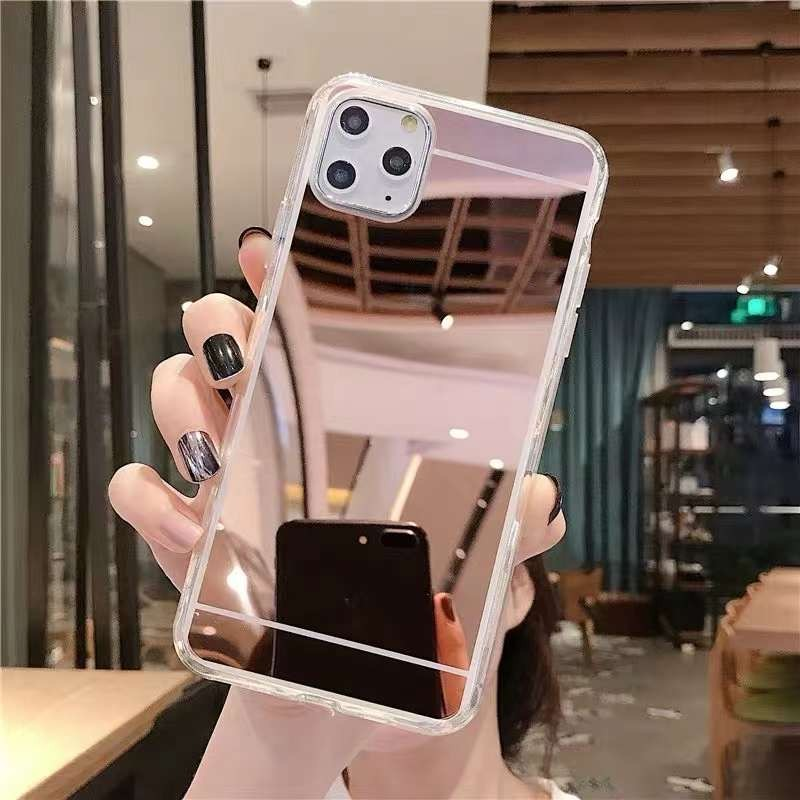 Perfect Samsung S7 S6 Edge Note 5 Silicone Mirror Protective Sleeve Cases SG705_3