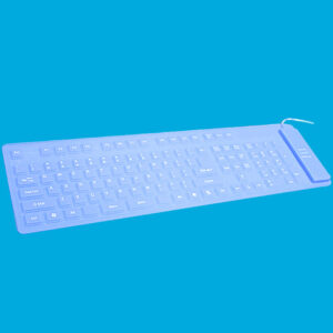 Foldable Silicone USB Keyboard For Surface Book Macbook Air Pro PKB04