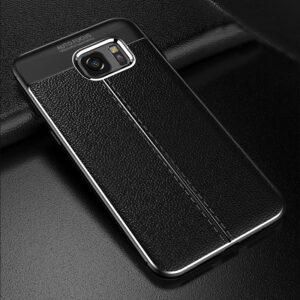Perfect Leather Silicone Case For Samsung S10 9 8 And Plus SG706
